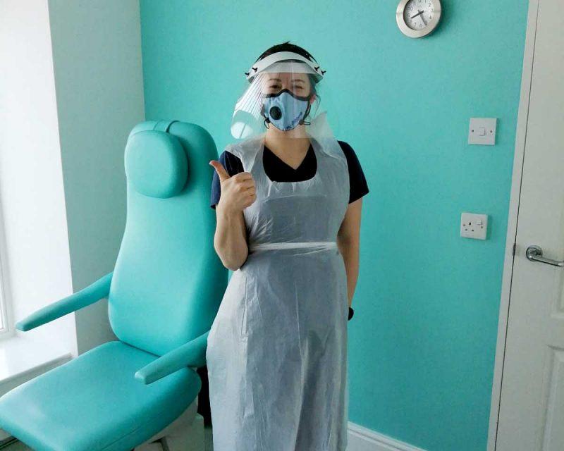 Farnham Chiropodist clinic staff safety measures
