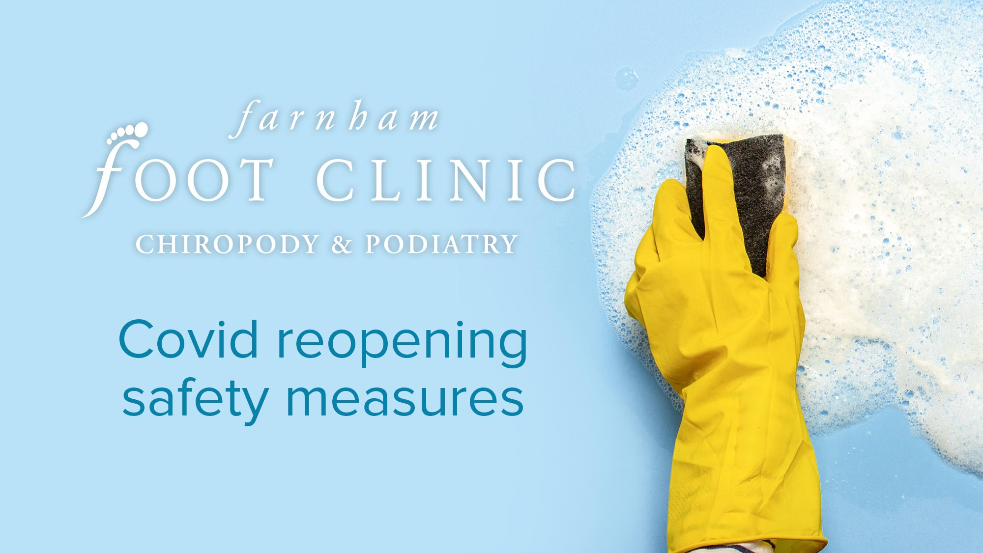 Farnham Foot Clinic Reopening Safety Measures