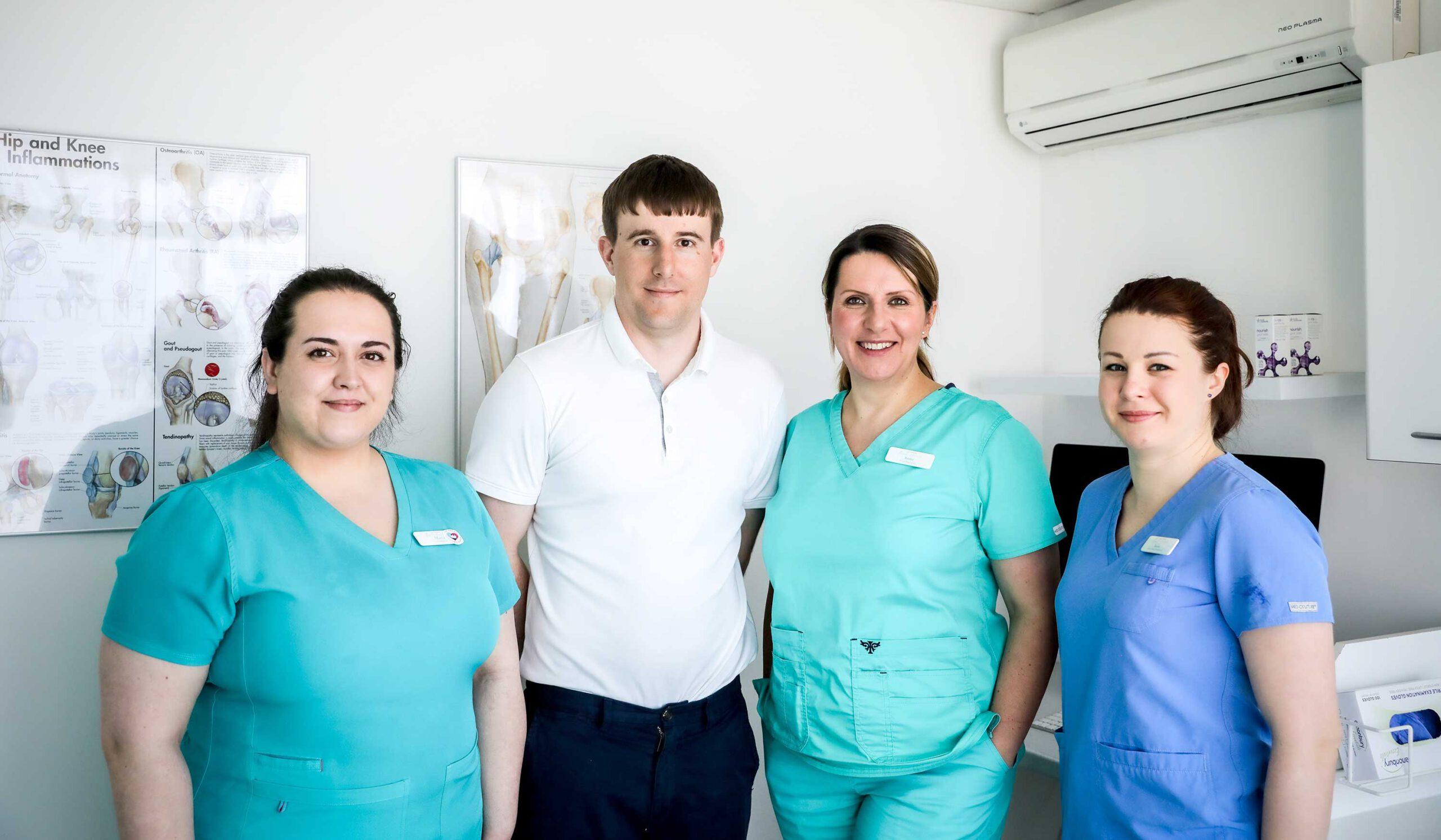 The Farnham Foot Clinic Team